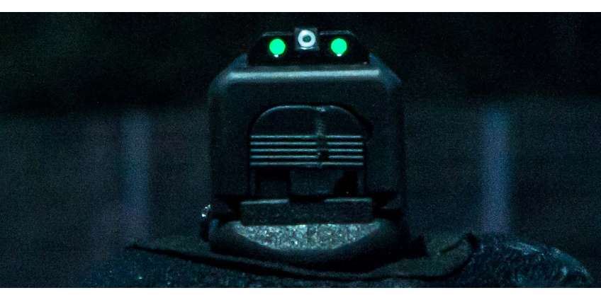 Are tritium night sights safe
