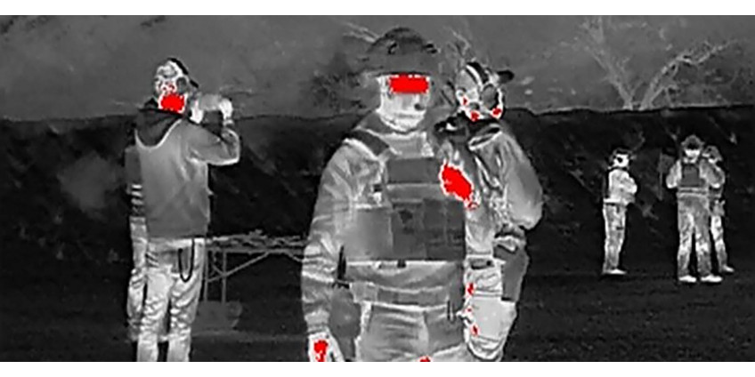 How to shield yourself from thermal imaging?