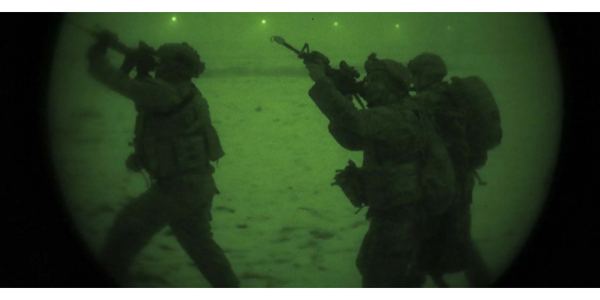 Infrared illumination for night vision devices