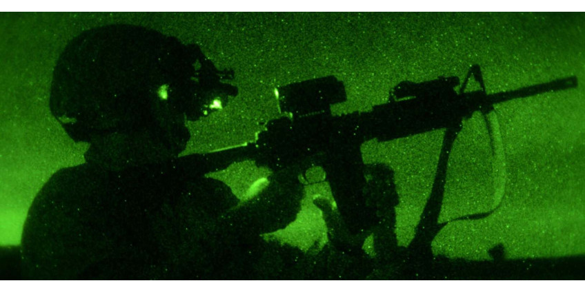 Night vision vs. camouflage or how to avoid night vision detection