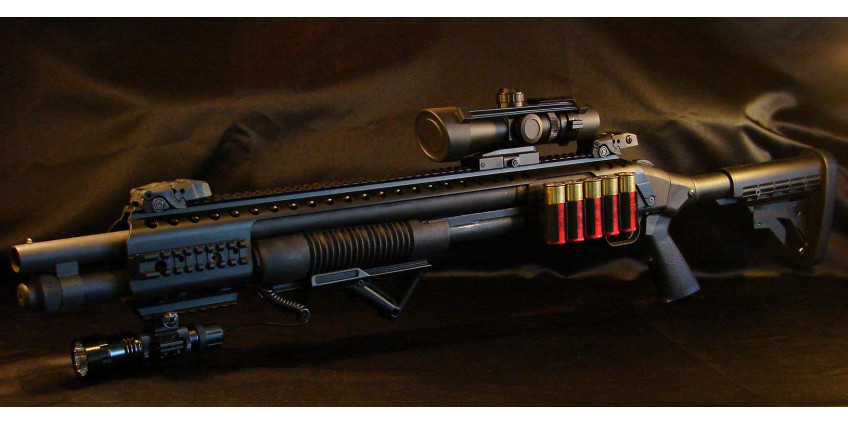 Mossberg. Legendary weapon and NVD for it