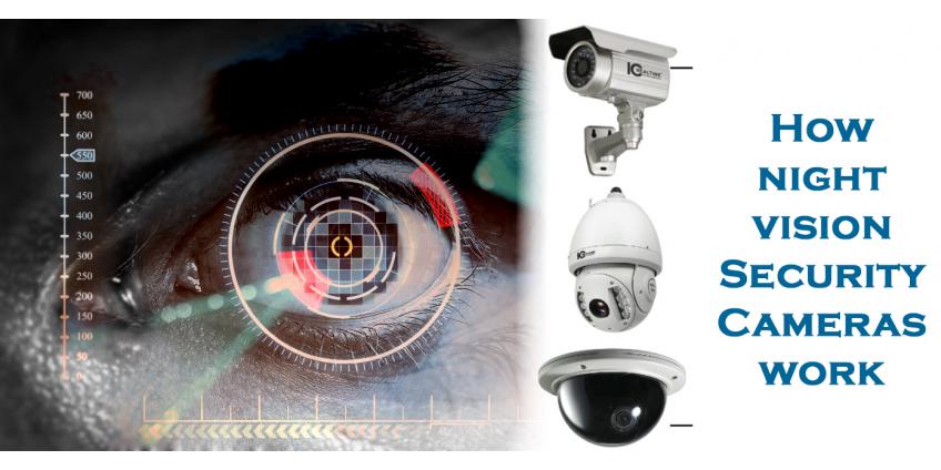 How do night vision cameras work?